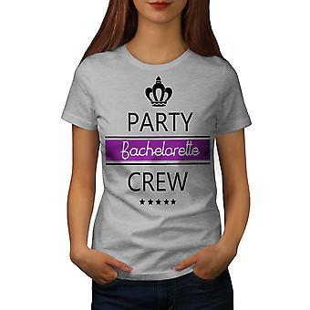 Bachelor Party Women GreyT-shirt | Wellcoda