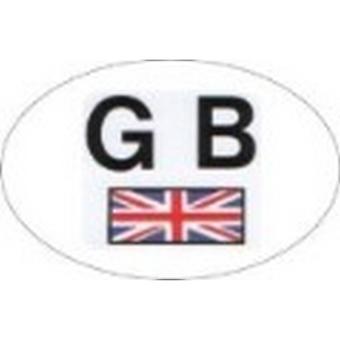 W4 Small GB Sticker With Union Jack
