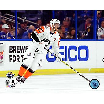 Connor McDavid 2018 NHL All-Star Game Photo Print