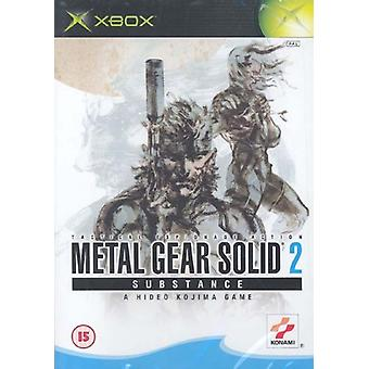 Sostanza solida 2 (Xbox) -Fabbrica sigillata