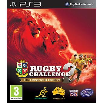 Rugby Challenge 2 - Lions Tour Edition(PS3) - Uusi