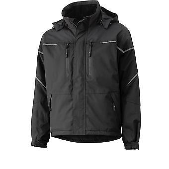 هيلي هانسن Mens Kiruna مقاومة للرياح Zip Up Workwear Jacket