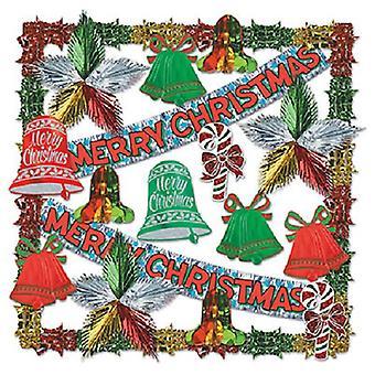 Счастливого Рождества, металлический комплект Dec-20 шт
