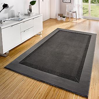 Diseño gris de cinta de alfombra de terciopelo