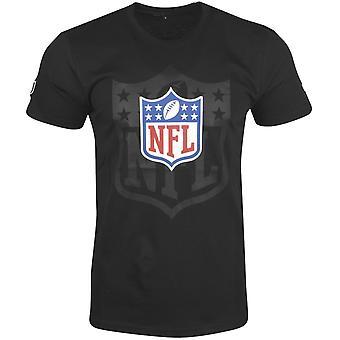 New era fan shirt - NFL Shield League logo 2.0 black