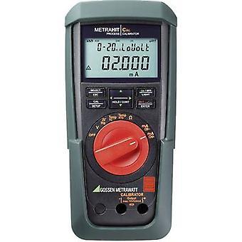 Gossen Metrawatt METRAHIT CAL Calibrator Calibrated to (DAkkS standards) Voltage, Amperage 2 x AA battery (included)