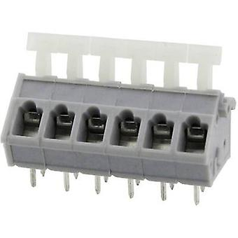 Degson DG243-5.0-04P-11-00AH Spring-loaded terminal 3.31 mm² Number of pins 4 Grey 1 pc(s)