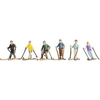 H0 skiers 15828
