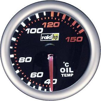 raid hp 660242 Oil Temperature Gauge 40 to 150°C 12V