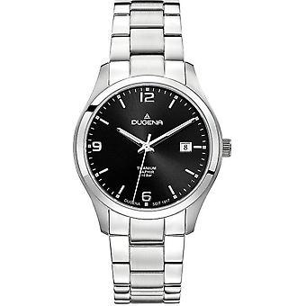 Dugena watch traditional classic safe titanium 4460697