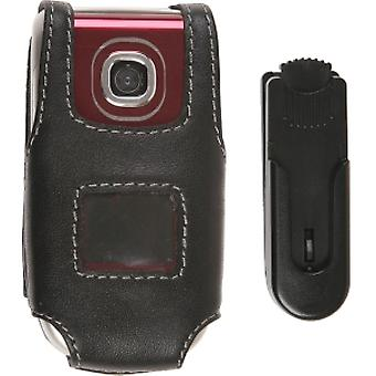 Wireless Solution Premium Belt Clip Leather Case for Nokia 2760