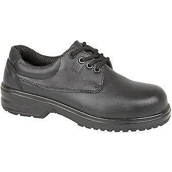 Amblers Steel FS121C Ladies Metal Free Gibson Safety Work Shoes Black