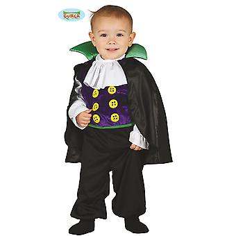 Bebê vampiro com traje de camuflagem para crianças carnaval Carnaval Halloween Drácula Júnior