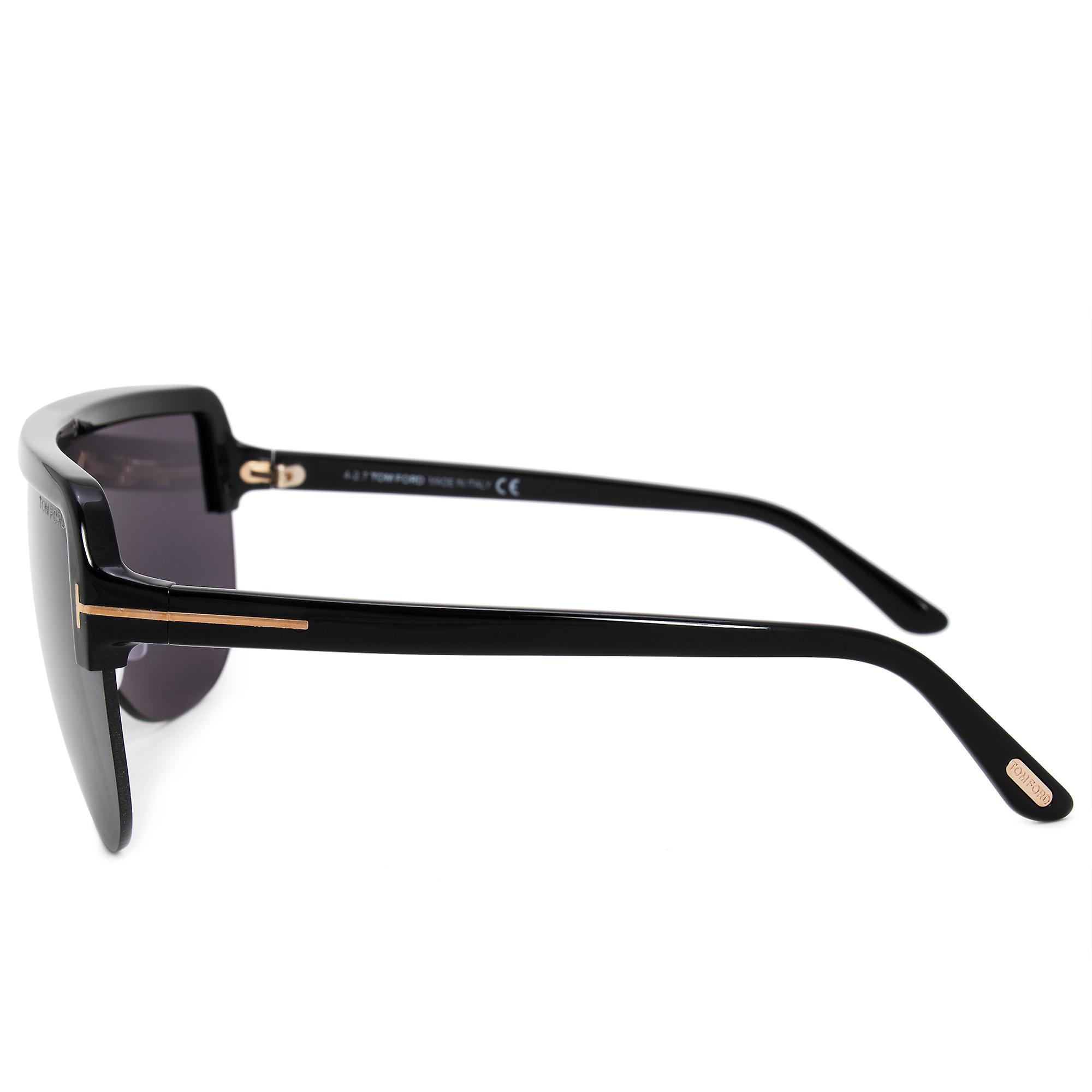 Tom Ford Angus-02 semi uten innfatning solbriller FT0560 01A 00