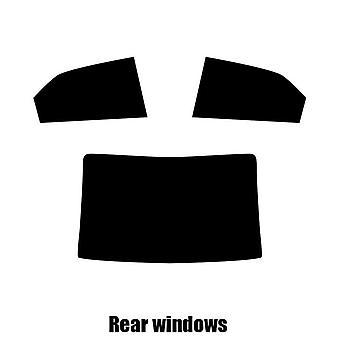 Pre cut window tint - Kia Forte 4-door Saloon - 2009 to 2016 - Rear windows
