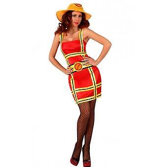 Vrouwen kostuums, Sexy brandweerman dames kostuum
