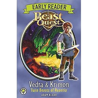 Vedra & Krimon Twin Beasts of Avantia by Adam Blade - 9781408335000 B