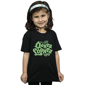 Willy Wonka et le T-Shirt chocolat Factory filles Oompa Loompa Land