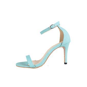 Lovemystyle Mint bleu Barely There talons sandales