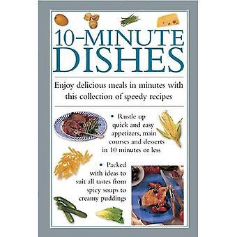 10 minuters rätter: njuta av utsökta måltider i minuter med denna samling av snabba recept