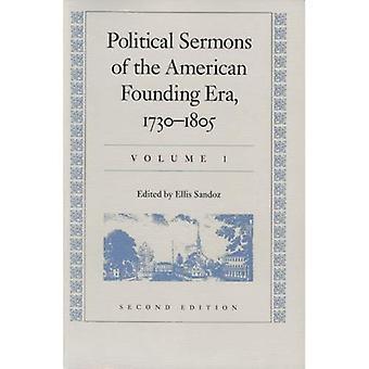 Sermons politiques de l'American fondation Era, 1730-1805