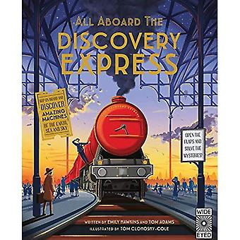 All Aboard the Discovery Express: Open the Flaps and Solve the Mysteries (All Aboard)
