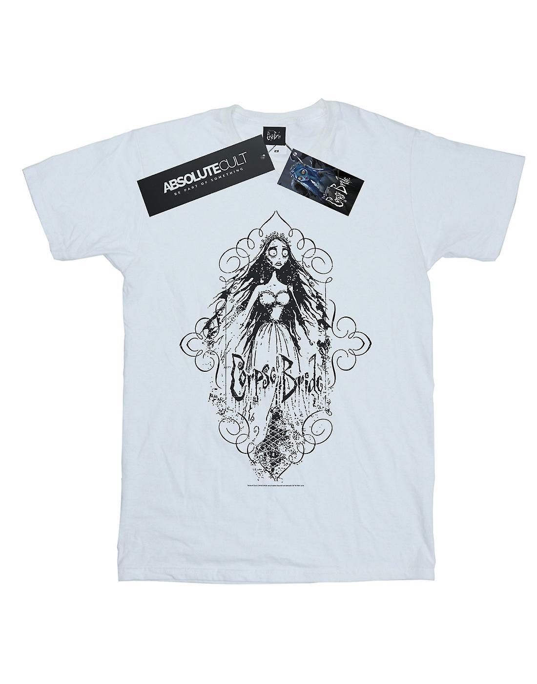 Corpse Bride Boys Sketched Bride T-Shirt