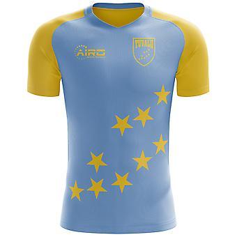 2020-2021ツバルホームコンセプトフットボールシャツ