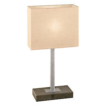 Eglo - Pueblo 1 1 Light Touch Table lampe Antique brun EG87599