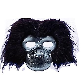 Gorilla Plush Mask For Adults