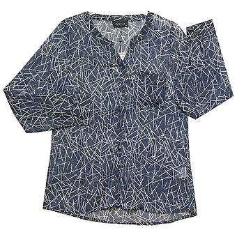 In Town Blouse 182341 Navy