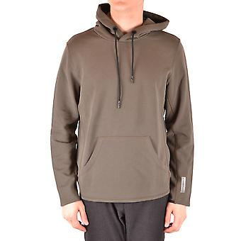 Paolo Pecora Ezbc059056 Men's Green Cotton Sweatshirt