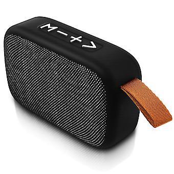 Micro-SD USB Socket Bluetooth Speaker Jack 3.5 Microphone FM Radio Silver