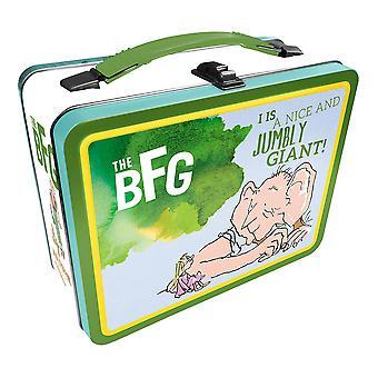 Roald Dahl el BFG Tin llevar toda la caja de diversión