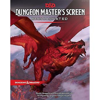 Dungeons & Dragons Dungeon Masters Screen Reincarnated Board Game