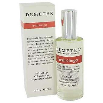 Demeter Fresh Ginger av Demeter Cologne spray 4 oz (damer) V728-455610