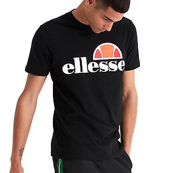 Ellesse Heritage Prado mens retro Fashion T-shirt shirt tee zwart