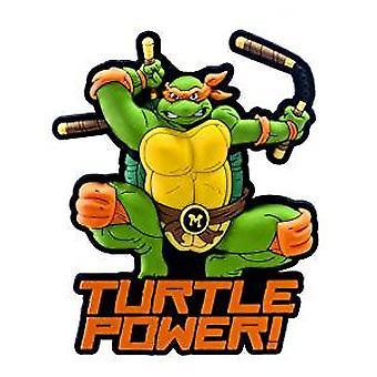 Magnet -  TNMT - Ninja Turtle Micheangelo Soft Touch Figure New 63031