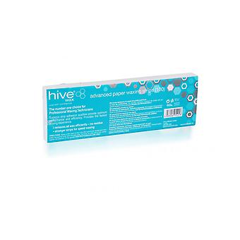 Hive Of Beauty Waxing Paper Face & Body Removal Strips 22cm x 7.5cm (100)