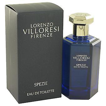 Spezie eau de toilette spray door lorenzo villoresi 533419 100 ml