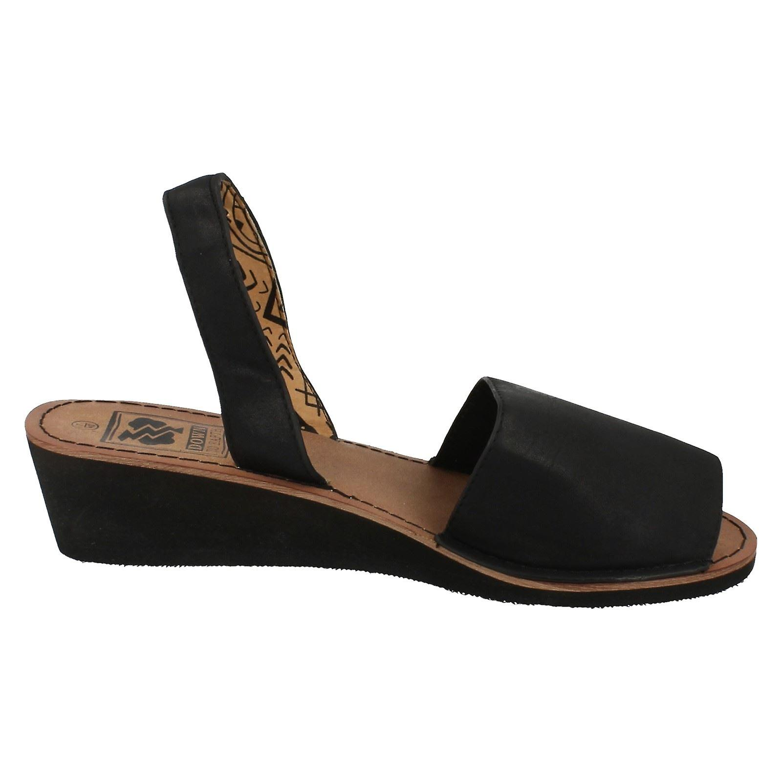 Mesdames, Down to Earth milieu Wedge Mule Slingback Sandals F10234