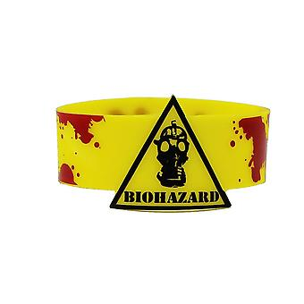 Wristband - Biohazard! Mask With Blood Gifts rwb-0049