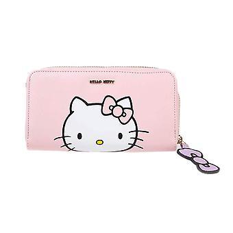Bonjour Kitty Pink Zip Autour de la pochette