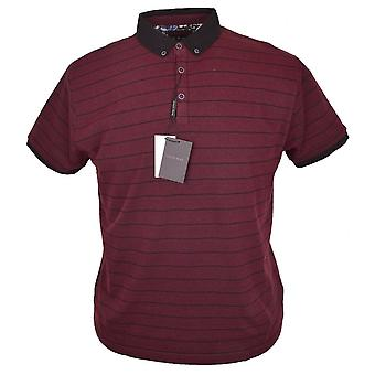 LIZARD KING Lizard King Stripe Pique Polo