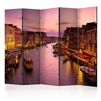 Vouwscherm - City of lovers, Venice by night [Room Dividers]