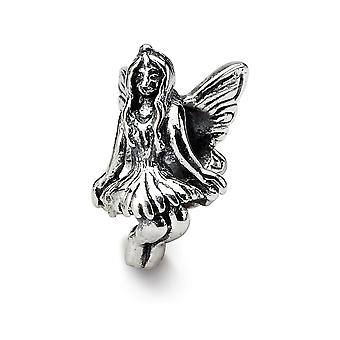 925 Sterling Silver finish Reflections Fairy Bead Charm Pendant Necklace Jewelry Gifts for Women