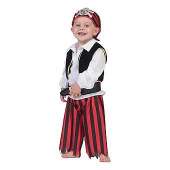 Pirate Baby Toddler Pirate Sailor Enfants Costume Carnaval Bébé Minipirate Carnaval