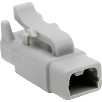 Amphenol ATM06 2S Bullet liitin liitin, suora sarja (liittimet): paikan yhteensä nastojen määrä: 2 1 PCs()