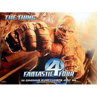 Fantastic Four (The Thing) (Double Sided) Original Cinema Poster
