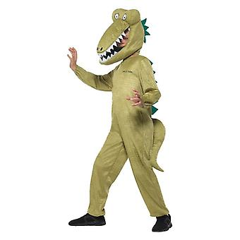 Costume de déguisements garçons Roald Dahl énorme Crocodile